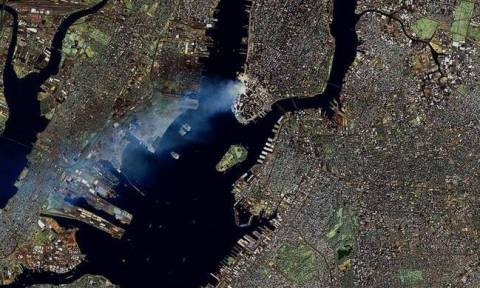 11η Σεπτεμβρίου 2001: Σπάνιο βίντεο από την επίθεση στους Δίδυμους Πύργους από το διάστημα