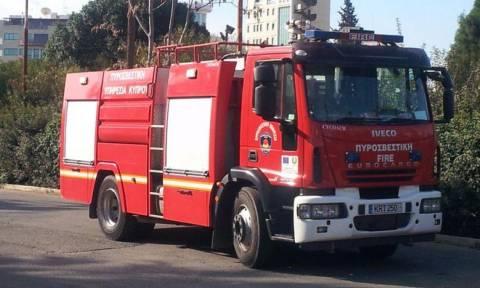 Θεσσαλονίκη: Πυρκαγιά κοντά στο στρατόπεδο Γκόνου - Απομακρύνθηκαν κρατούμενοι από το Μεταγωγών