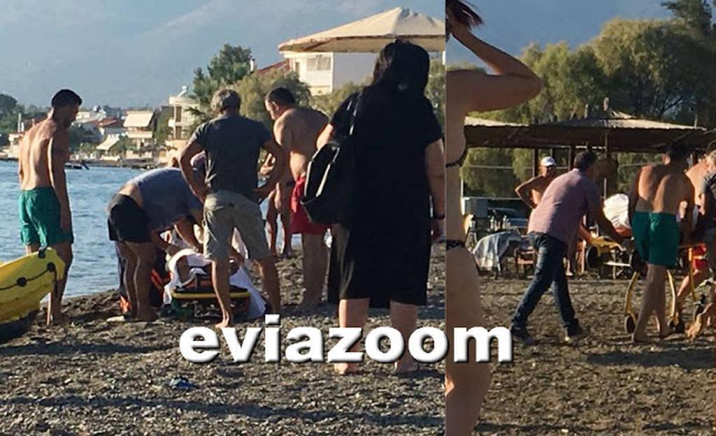 ΣΟΚ στην Εύβοια: Αποκοιμήθηκε στο στρώμα θαλάσσης, έπεσε στο νερό και πνίγηκε (pics)
