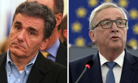 Τσακαλώτος: Να μην κοπούν οι συντάξεις - Γιούνκερ: Τα μέτρα πρέπει να εφαρμοστούν