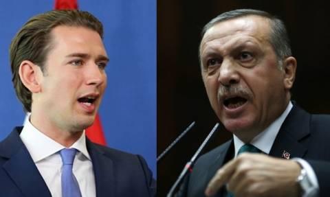 «Πόλεμο» με την Αυστρία ξεκινά ο Ερντογάν: «Έξαλλος» ο Κουρτς με τη σύλληψη Αυστριακού δημοσιογράφου