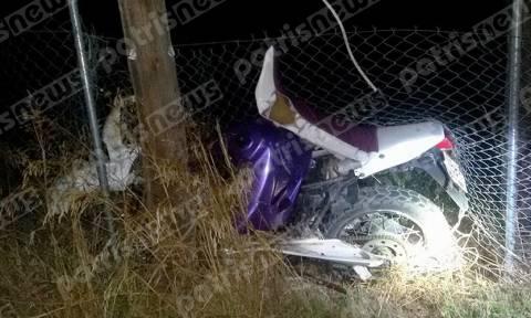 Αμαλιάδα: Εκτροπή θανάτου για 21χρονο οδηγό μηχανής