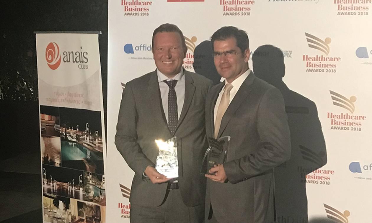 Διακρίθηκε άλλη μια χρονιά η DEMO ABEE  στην διοργάνωση «Healthcare Business Awards 2018»