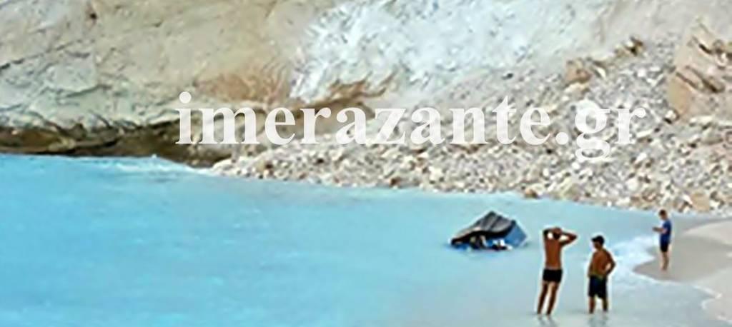 Ζάκυνθος: Κατολίσθηση στο Ναυάγιο - Συγκλονίζουν οι πρώτες εικόνες από το σημείο