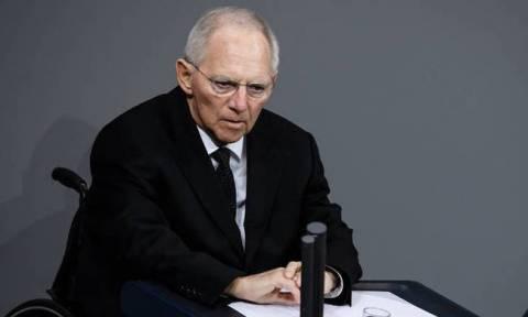 Σόιμπλε: Δεν βλέπω κανέναν λόγο για λήξη του συναγερμού στην Ευρώπη