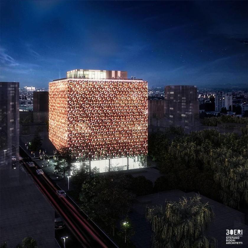 Αλβανία: Θεμέλια για τον εντυπωσιακό «Χρυσό Κύβο» στα Τίρανα - Δείτε φωτογραφίες