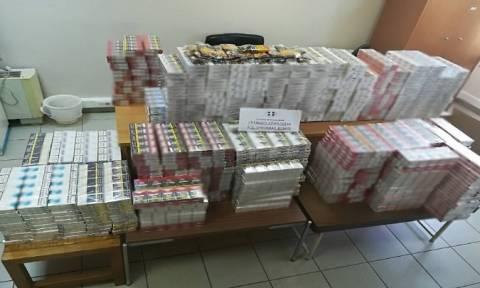Θεσσαλονίκη: Κατασχέθηκαν πάνω από 5.000 λαθραία πακέτα τσιγάρων