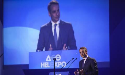 Κυριάκος Μητσοτάκης από τη ΔΕΘ: Θα καταψηφίσουμε τη συμφωνία - ντροπή για το Σκοπιανό (pics)