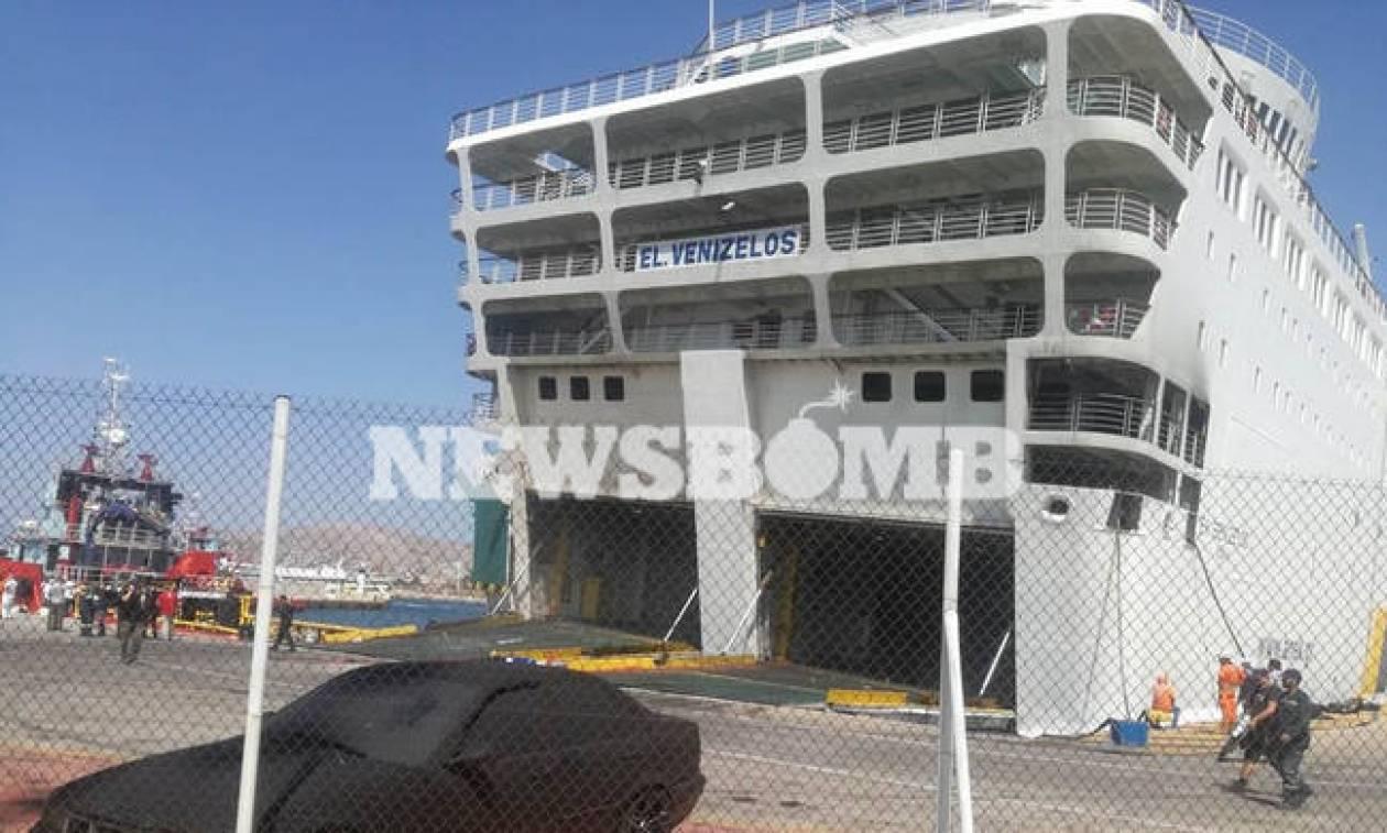 «Ελευθέριος Βενιζέλος»: Έτσι ξεκίνησε η φωτιά που έκαψε το πλοίο - Εξαπλώθηκε μέσα σε 4 λεπτά