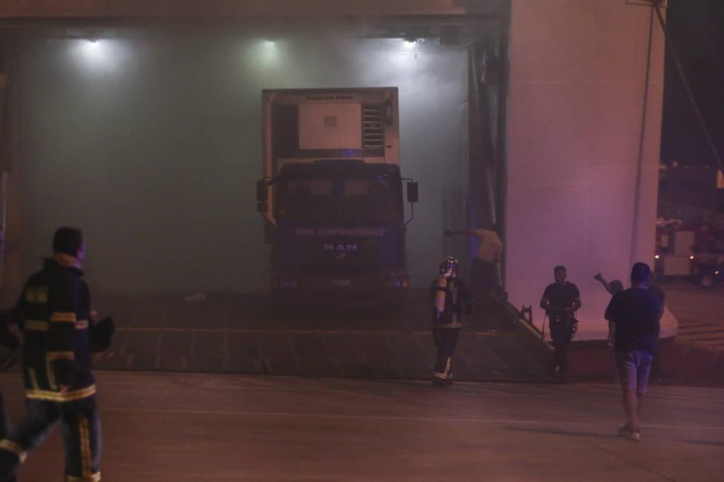 «Ελευθέριος Βενιζέλος»: Έτσι ξεκίνησε η φωτιά που έκαψε το πλοίο