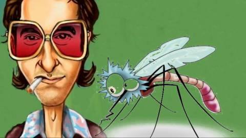 Αποκλειστικό: «Χθες βράδυ πήρα συνέντευξη από ένα κουνούπι!»