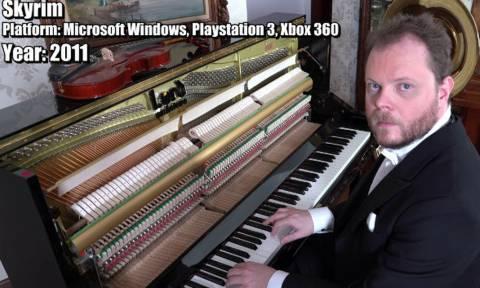 Αν δείτε ποια τραγούδια παίζει στο πιάνο, θα κουφαθείτε! (vid)