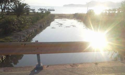 Κέρκυρα: «Πάγωσαν» αντικρίζοντας αυτές τις απόκοσμες εικόνες στο ποτάμι (pics)