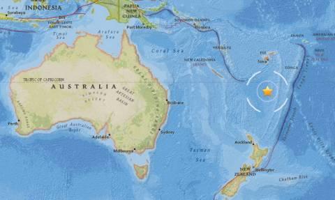 Ισχυρός σεισμός στον Ειρηνικό Ωκεανό