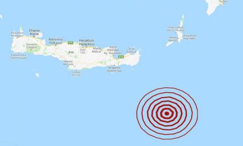 Σεισμός νοτιοανατολικά της Κρήτης - Αισθητός σε αρκετές περιοχές (pics)