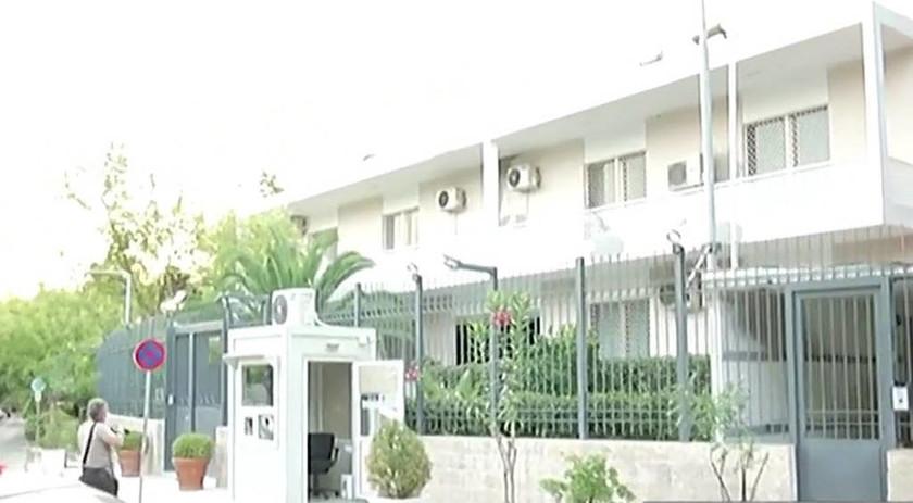 Επίθεση του Ρουβίκωνα στην πρεσβεία του Ιράν στο Ψυχικό (pics)