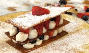 Η συνταγή της ημέρας: Μιλφέιγ με φρούτα
