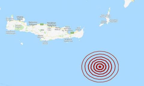 На Крите произошло землетрясение 4,7 балла