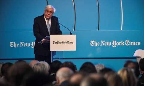 Προκόπης Παυλόπουλος: Τα μηνύματα του Προέδρου στο «Αthens Democracy Forum»