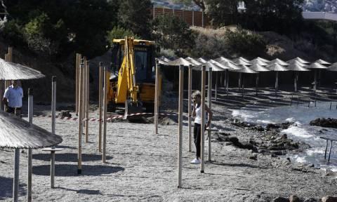 Κατεδαφίσεις αυθαιρέτων: Μπουλντόζες σε beach bar στην Ανάβυσσο