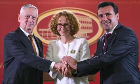 Τζέιμς Μάτις: Αμερικανική στήριξη στη Συμφωνία των Πρεσπών μεταξύ Ελλάδας και Σκοπίων