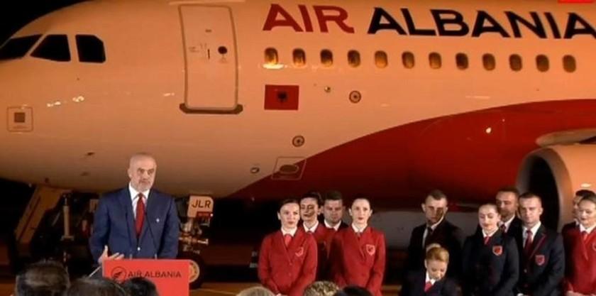 Αir Albania: H Αλβανία αποκτά τον δικό της εθνικό αερομεταφορέα