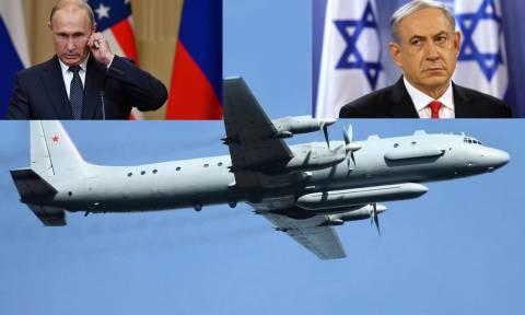 Δραματικές εξελίξεις - Οργή Ρωσίας κατά Ισραήλ: Ρίξατε το αεροπλάνο μας, θα απαντήσουμε αναλόγως