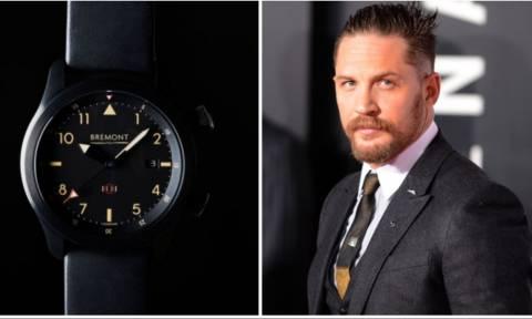 Θα πάθεις πλάκα με το ρολόι που θα φοράει ο Τομ Χάρντι στην νέα του ταινία! (pics)