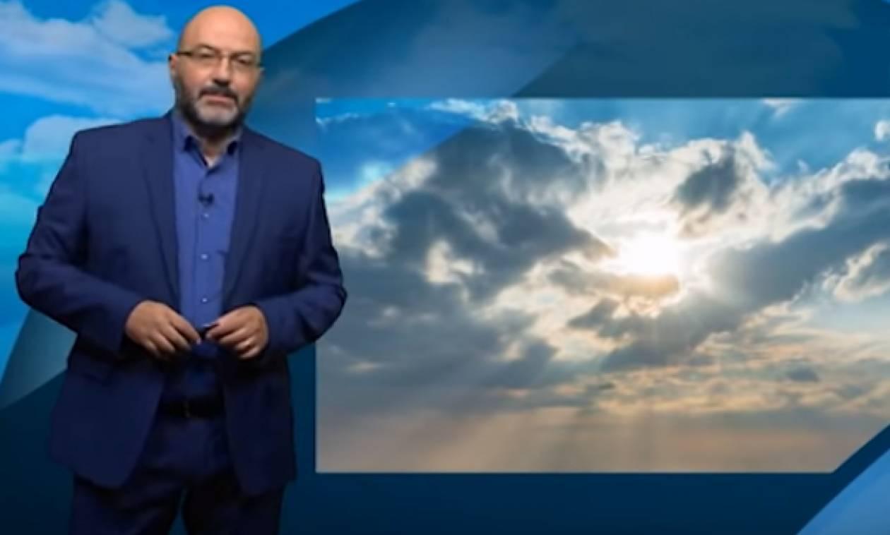 Ερχεται θερμή εισβολή στην Ελλάδα και... Μεσογειακός Κυκλώνας δίπλα μας (video)