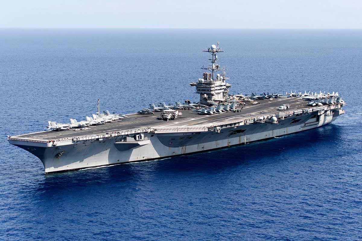 USS Harry S. Truman CVN 75
