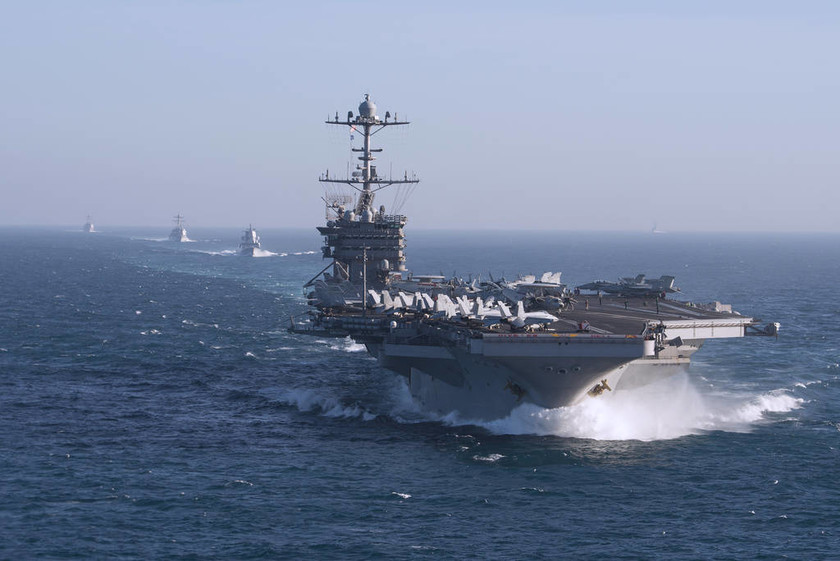 Οι Τούρκοι ανοίγουν πυρ στο Αιγαίο - Καταφθάνει το αεροπλανοφόρο Truman των ΗΠΑ