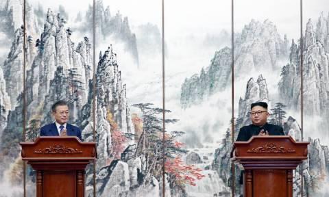 Ιστορική συμφωνία μεταξύ Βόρειας και Νότιας Κορέας: Ο Κιμ κλείνει οριστικά πεδίο δοκιμών (pics&vids)