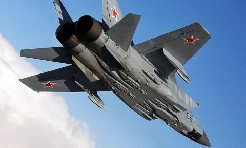 Συνετρίβη μαχητικό αεροσκάφος MiG-31 στη Ρωσία