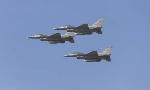 Νέα εικονική αερομαχία μεταξύ ελληνικών και οπλισμένων τουρκικών μαχητικών στο Αιγαίο