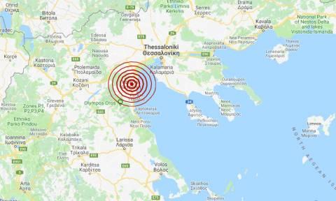 Σεισμός κοντά στην Κατερίνη (pics)