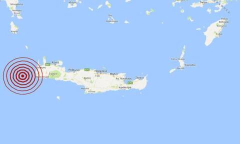 Σεισμός δυτικά της Κρήτης - Αισθητός σε αρκετές περιοχές (pics)