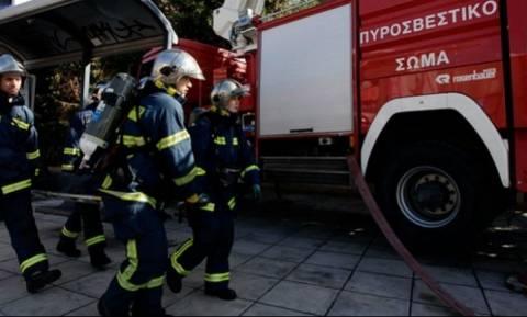 Θεσσαλονίκη: Φωτιά στη δυτική είσοδο της πόλης