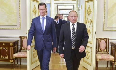 Τηλεγράφημα Άσαντ στο Κρεμλίνο για την κατάρριψη του ρωσικού κατασκοπευτικού