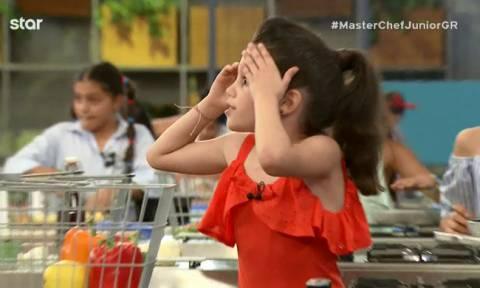 MasterChef Junior: Η μικρή Κλεοπάτρα φρίκαρε όταν συνειδητοποίησε τι είχε ξεχάσει
