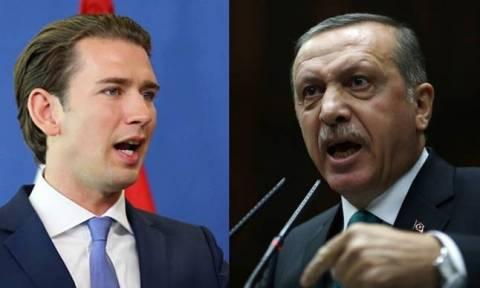 «Πόλεμο» με την Αυστρία ξεκινά ο Ερντογάν: «Έξαλλος» ο Κουρτς με τη σύλληψη Αυστριακού φοιτητή