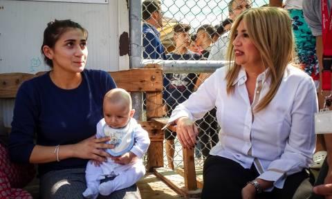 Γεννηματά από Μόρια: Η κατάσταση εδώ είναι τραγική, είναι κόλαση