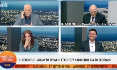 Το απίστευτο τηλεφώνημα που δέχτηκε στον αέρα της εκπομπής o Γιώργος Παπαδάκης (vid)
