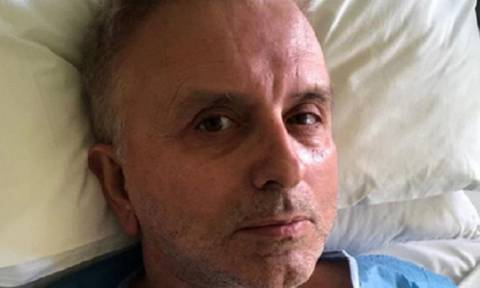 Στο νοσοκομείο ο Δήμος Βερύκιος-Τι είπε για την περιπέτεια της υγείας του