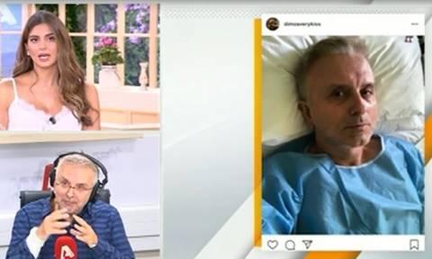 Δήμος Βερύκιος: Όλα όσα αποκάλυψε για την περιπέτεια υγείας του on air!