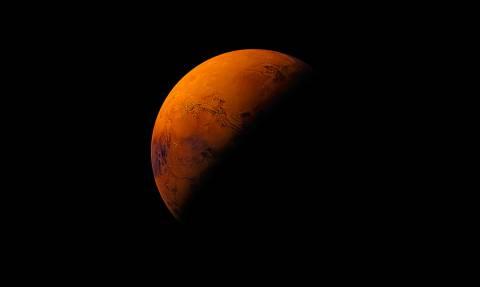 Δείτε την πρώτη «φωτογραφία» από τη διαστημική βάση στον πλανήτη Άρη