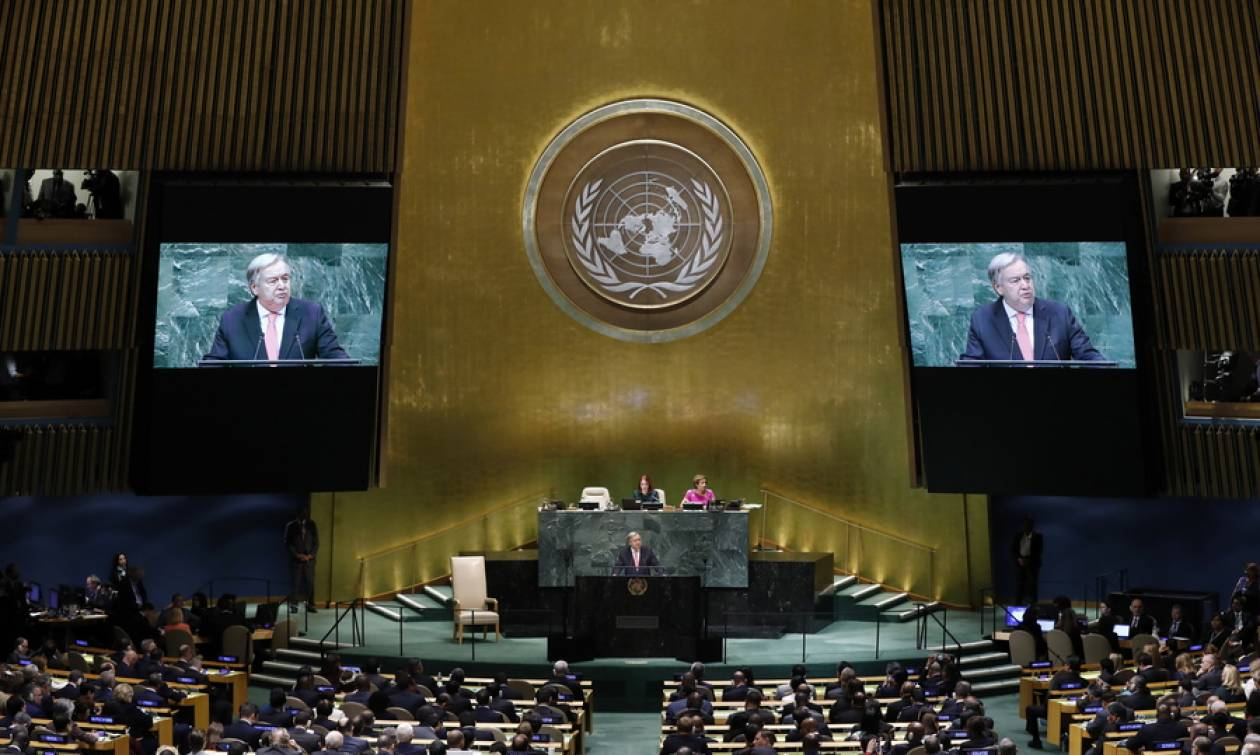 Γκουτέρες: Ελλάδα και Σκόπια έκαναν σημαντικό βήμα για την επίλυση των διαφορών τους
