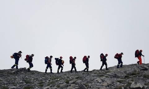 Μεγάλη επιχείρηση διάσωσης ορειβάτη στον Όλυμπο