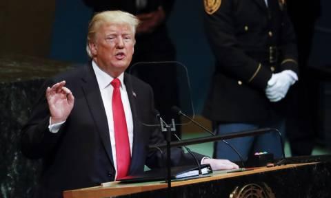 Τραμπ στον ΟΗΕ: Θα απαντήσουμε σε περίπτωση χρήσης χημικών όπλων στη Συρία