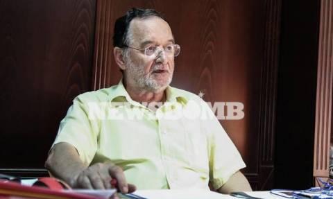 Παναγιώτης Λαφαζάνης στο Newsbomb.gr: «Θέλουν να με εξοντώσουν»
