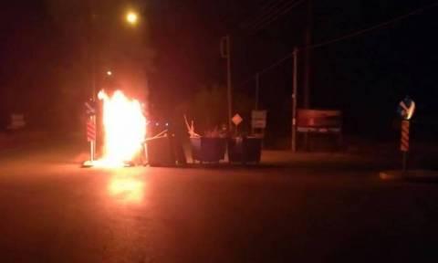 Κέρκυρα: Σοβαρά επεισόδια, φωτιές και χημικά για τον ΧΥΤΑ Λευκίμμης
